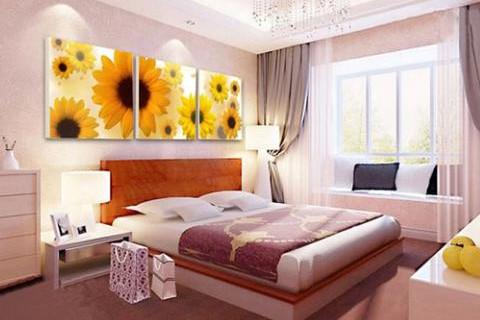 卧室五种挂画可以旺风水 适合在卧室摆放的图画